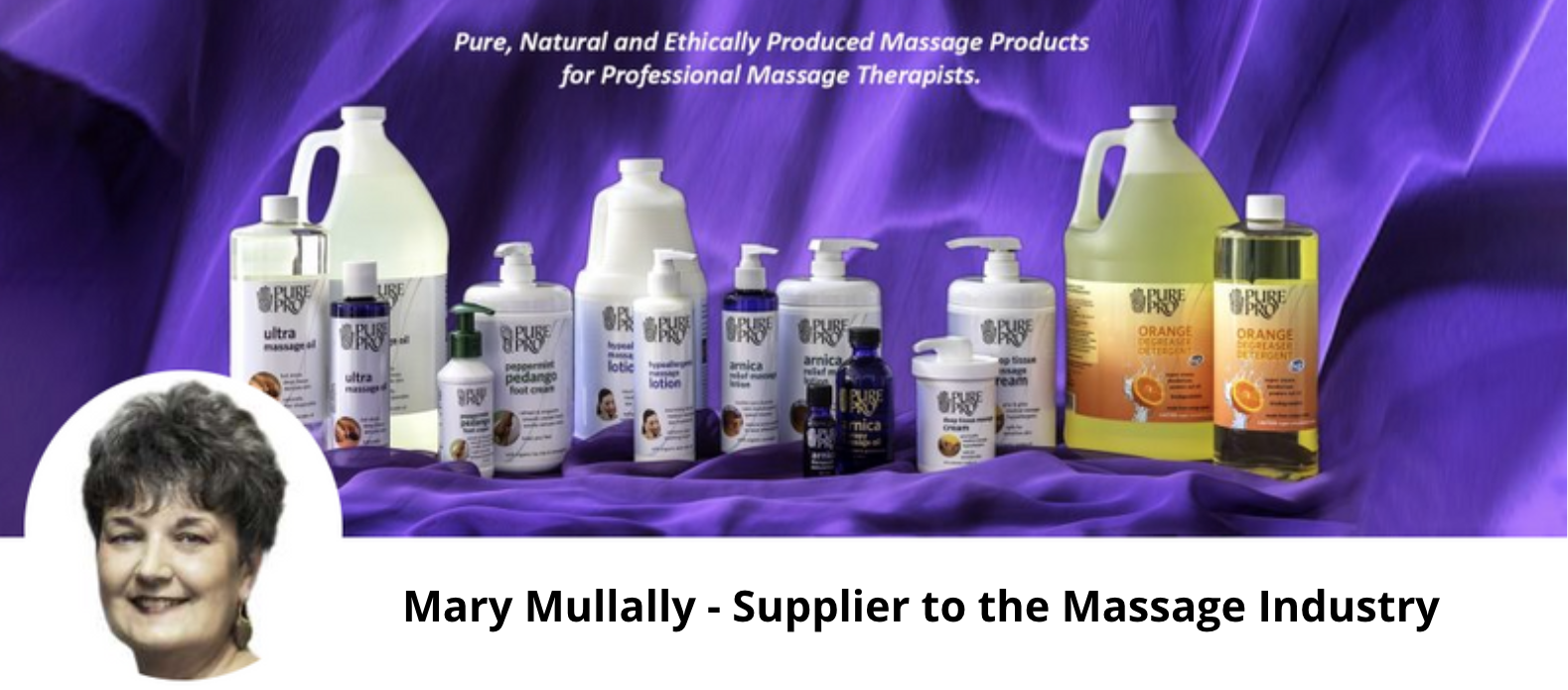Mary Mullally - Supplier to the Massage Industry